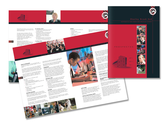 Shenley Brook End Prospectus, Campaign, design, free Trial, Marketing Approach, discounted, Presentation